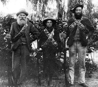 Los bóers en armas