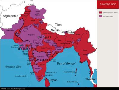 El imperio indio