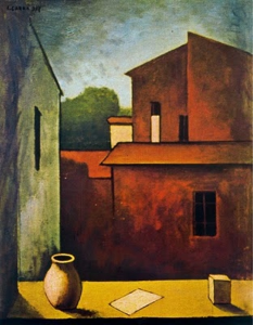 CARLO CARRÁ, LA CASA ROJA (1927)