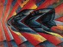 LUIGI RUSSOLO, DINAMISMO DE UN AUTOMÓVIL (1912-1913