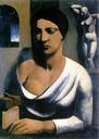 MARIO SIRONI, LA MODELO DEL ESCULTOR (1923-24)