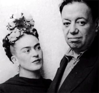 LA PAREJA DE PINTORES INTEGRADA POR DIEGO RIVERA (1886-1957) Y FRIDA KALHO (1907-1954)