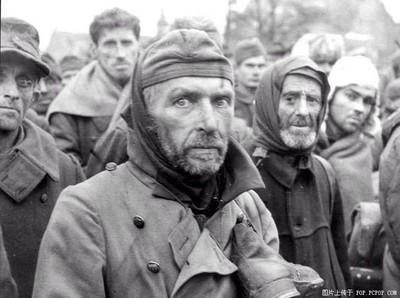 Prisioneros alemanes tras la caída de Stalingrado
