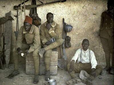 soldados africanos