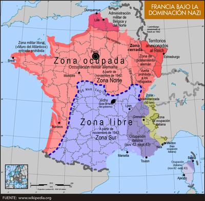 Francia bajo la dominación nazi