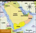 La península arábiga en la actualidad
