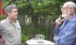 CARLOS LECHUGA CUENTA SUS IMPRESIONES AL CORRESPONSAL DE LA BBC