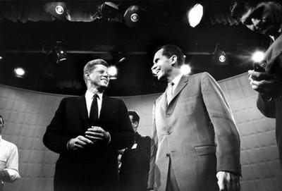 DEBATE TELEVISIVO ENTRE KENNEDY Y NIXON, EN 1960
