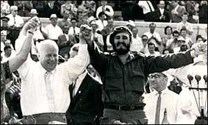 KHRUSHCHEV VISITÓ CUBA POCO DESPUÉS DE LA CRISIS