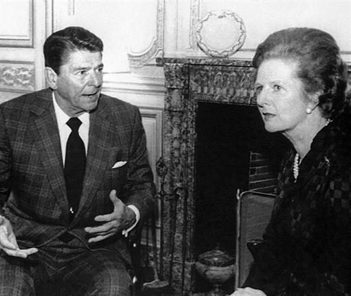 Thatcher y Reager