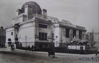 El característico edificio de la Secession